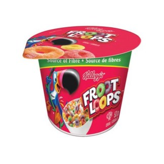 kellogg's Froot Loops Cereal Cup 53g