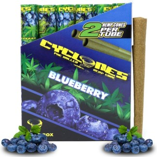 Cyclones Hemp Wraps Blueberry