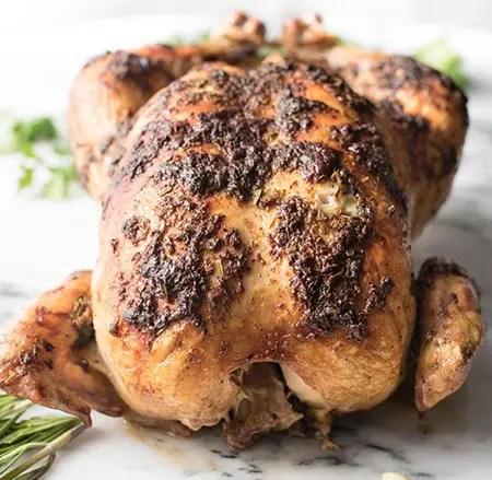 poulet entier au cookeo