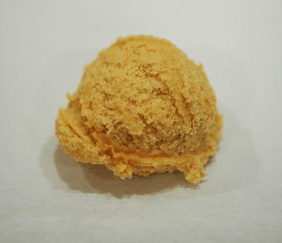 Pumpkins dough scoop