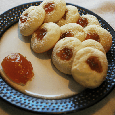 Apricot Cream Cheese Cookie
