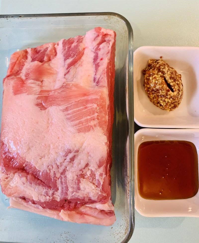 ingredientes costilla de cerdo