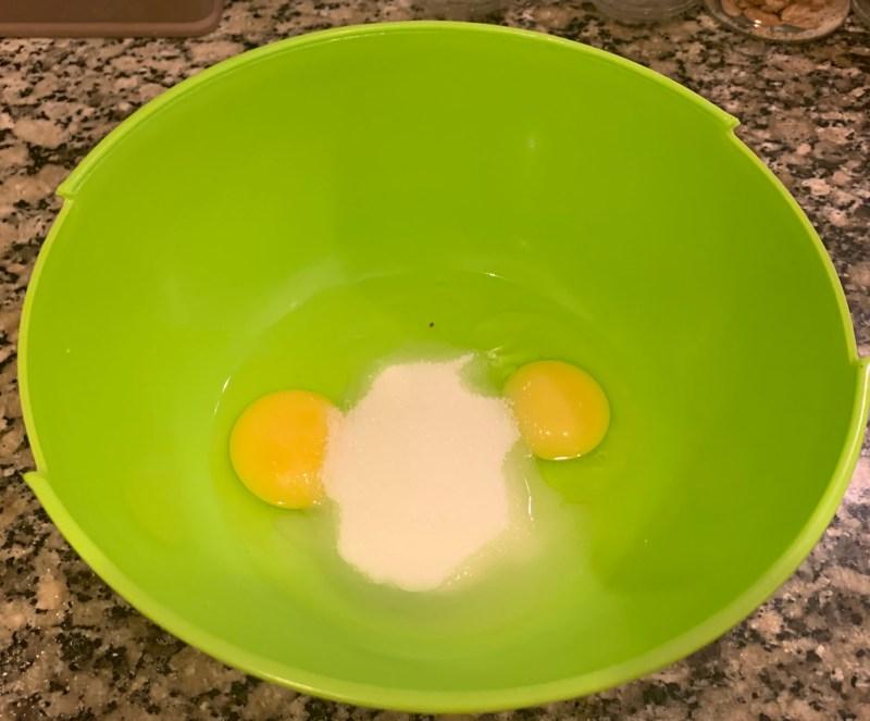 Huevos con azúcar