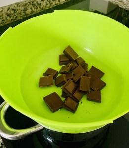 Chocolate al baño Maria