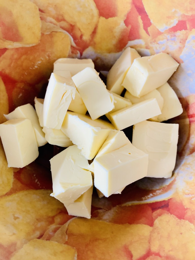 Chocolate y mantequilla al baño María