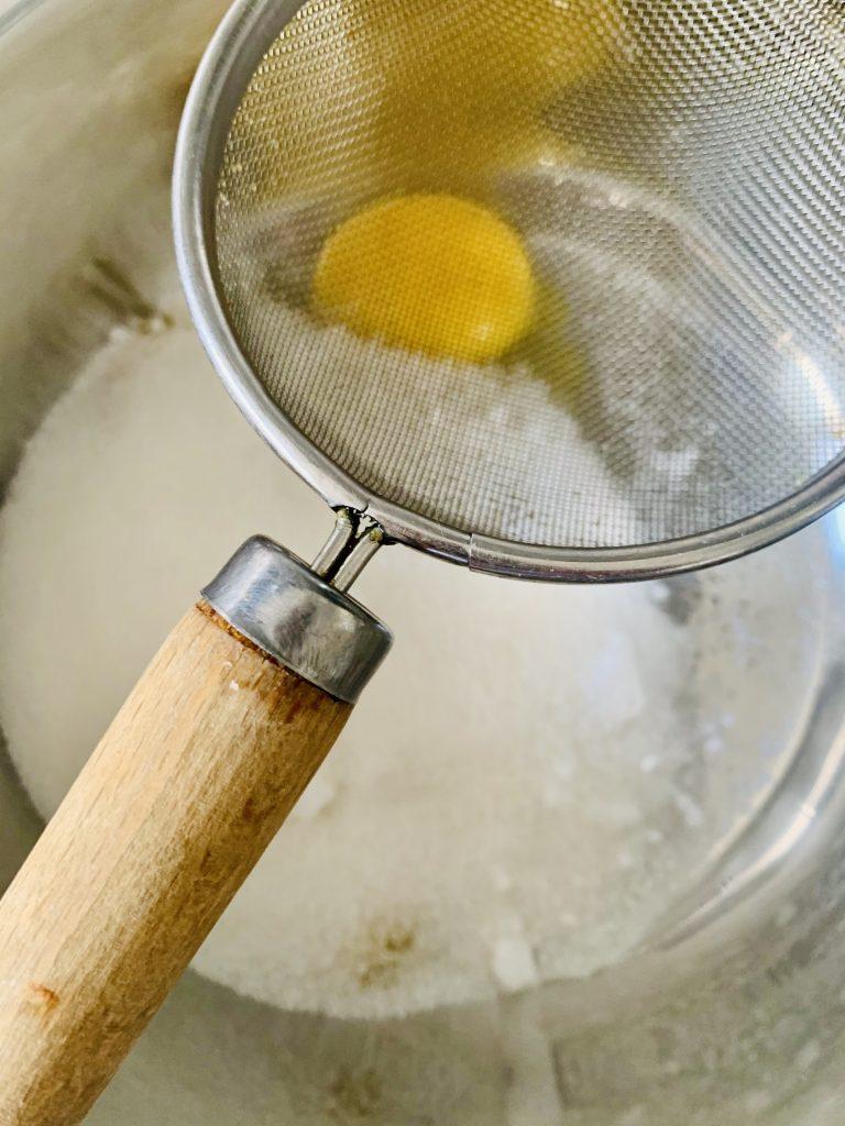 Paso a Paso Crema de limón y piña