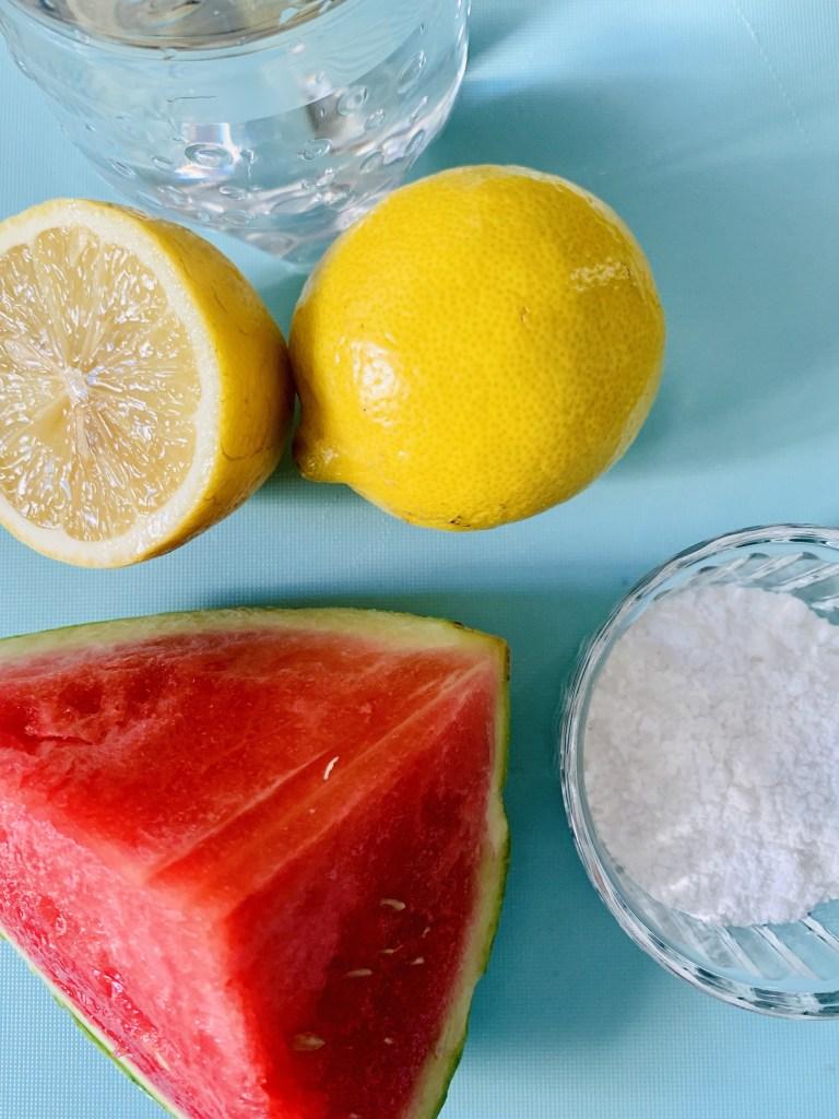 Ingredientes Limonada Rosa