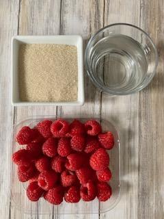 Ingredientes Coulis de Frambuesas