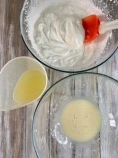 Limón y leche condensada