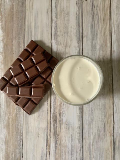 Ingredientes Mousse Chocolate con nata