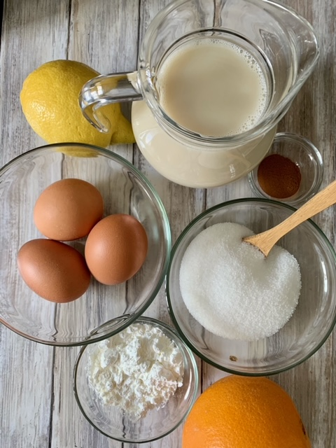 Ingredientes Natillas sin lactosa