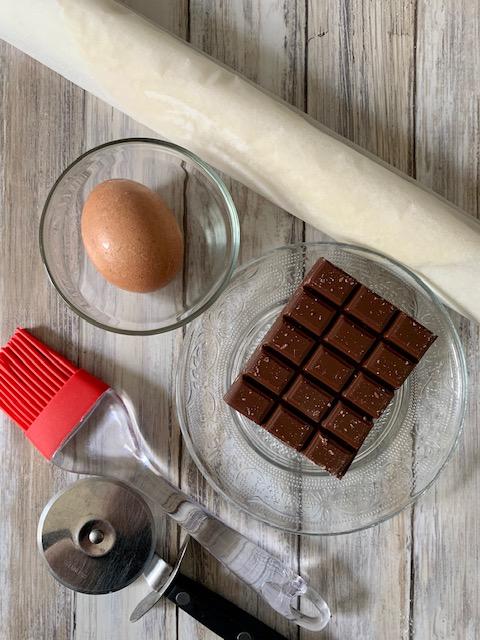 Ingredientes Croissants Chocolate