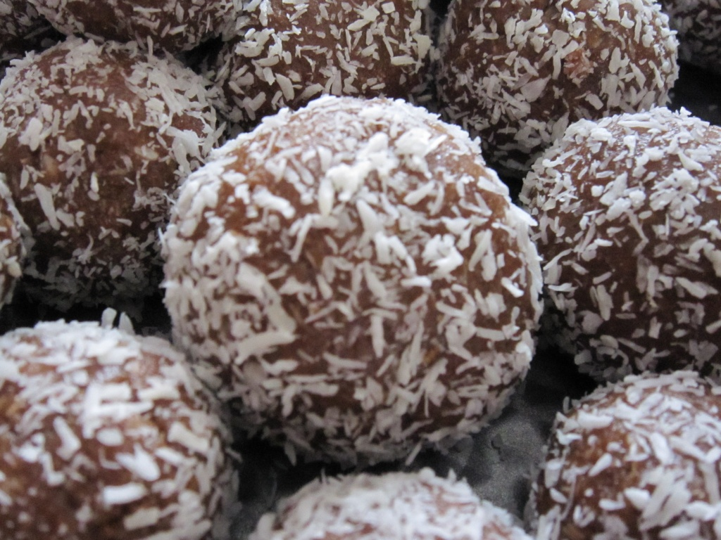 Image result for coconut balls