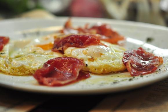 fried-egg-and-ham