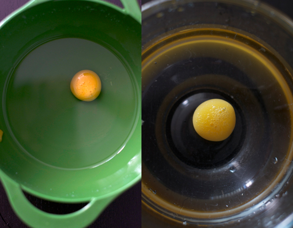 Spherification-process