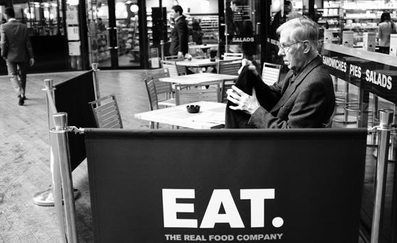 a-man-at-eat