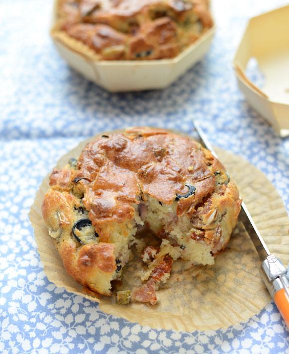 ham-cheese-olive-tomato-cake