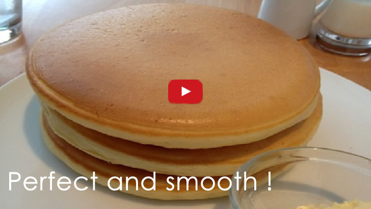 Making Perfectly Circular Pancakes Is Not That Much Hard As You Think