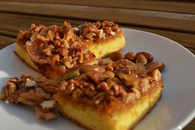 mary berry coffee and walnut cake recipe