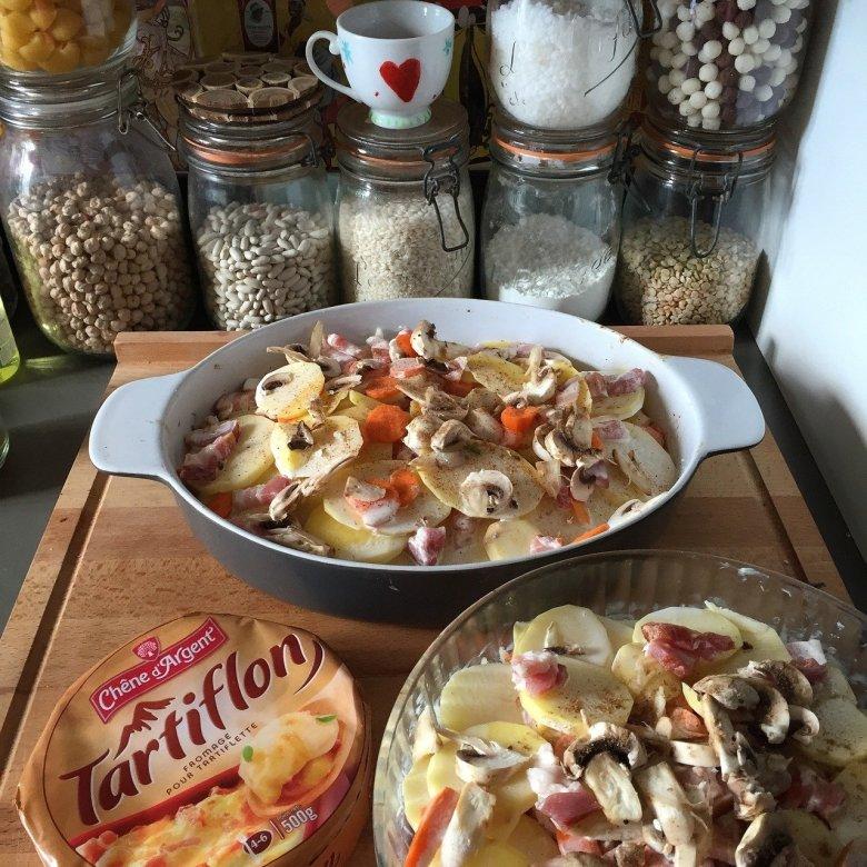 James Martin recipe for tartiflette