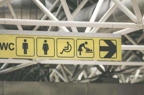 baños públicos son sexistas
