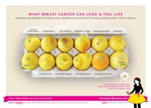 Esta foto viral pretende ayudar a las mujeres a detectar el cáncer precoz de mama, mama, para, también, está, cáncer, difícil, limón, cancer, esta, facebook
