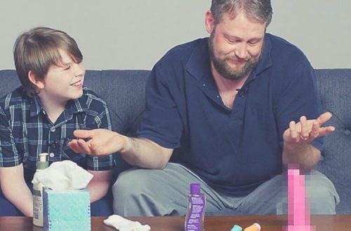 familia - Estos padres intentan hablar sobre la masturbación. Mira la reacción de sus hijos