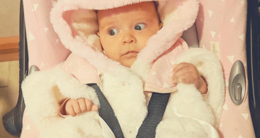 Consejos para vestir a tu bebé en el invierno