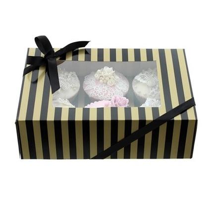 Formas de presentar cupcakes estas fiestas navideñas