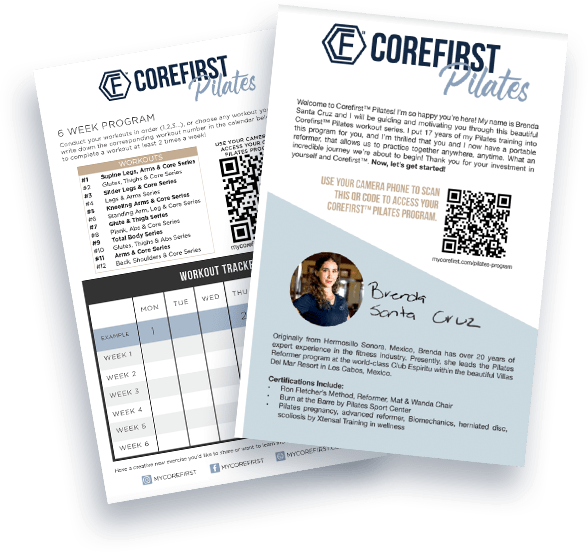 Corefirst Pilates Welcome Materials