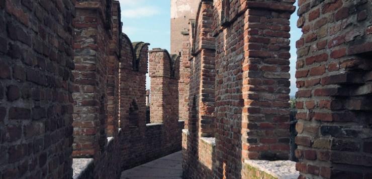 Walkway on the walls