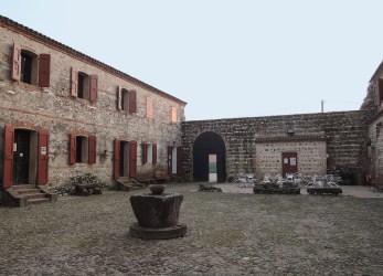 Castle of San Martino courtyard