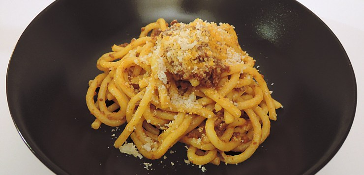 bigoli with ragù