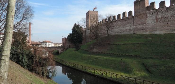 Cittadella Walls and moat