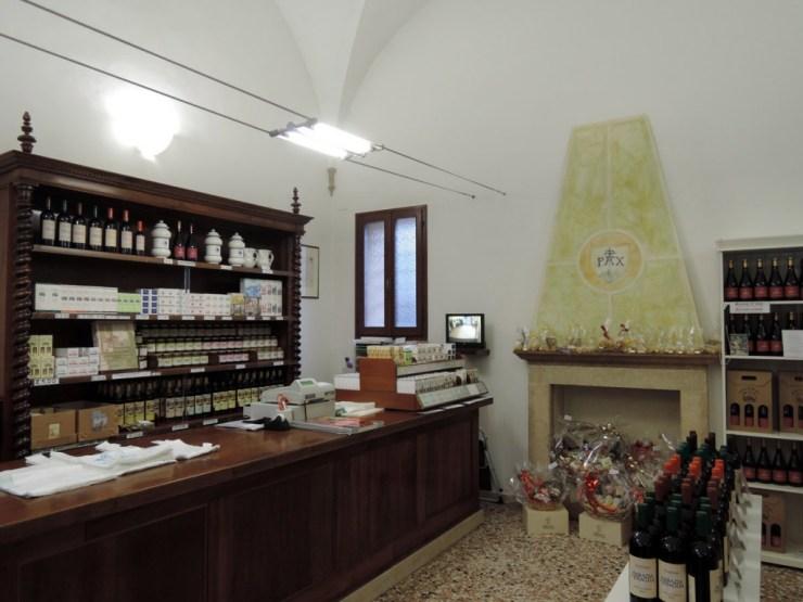 Praglia shop