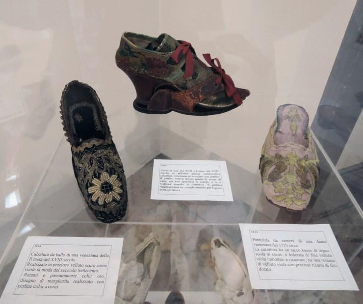 XVIII century shoes
