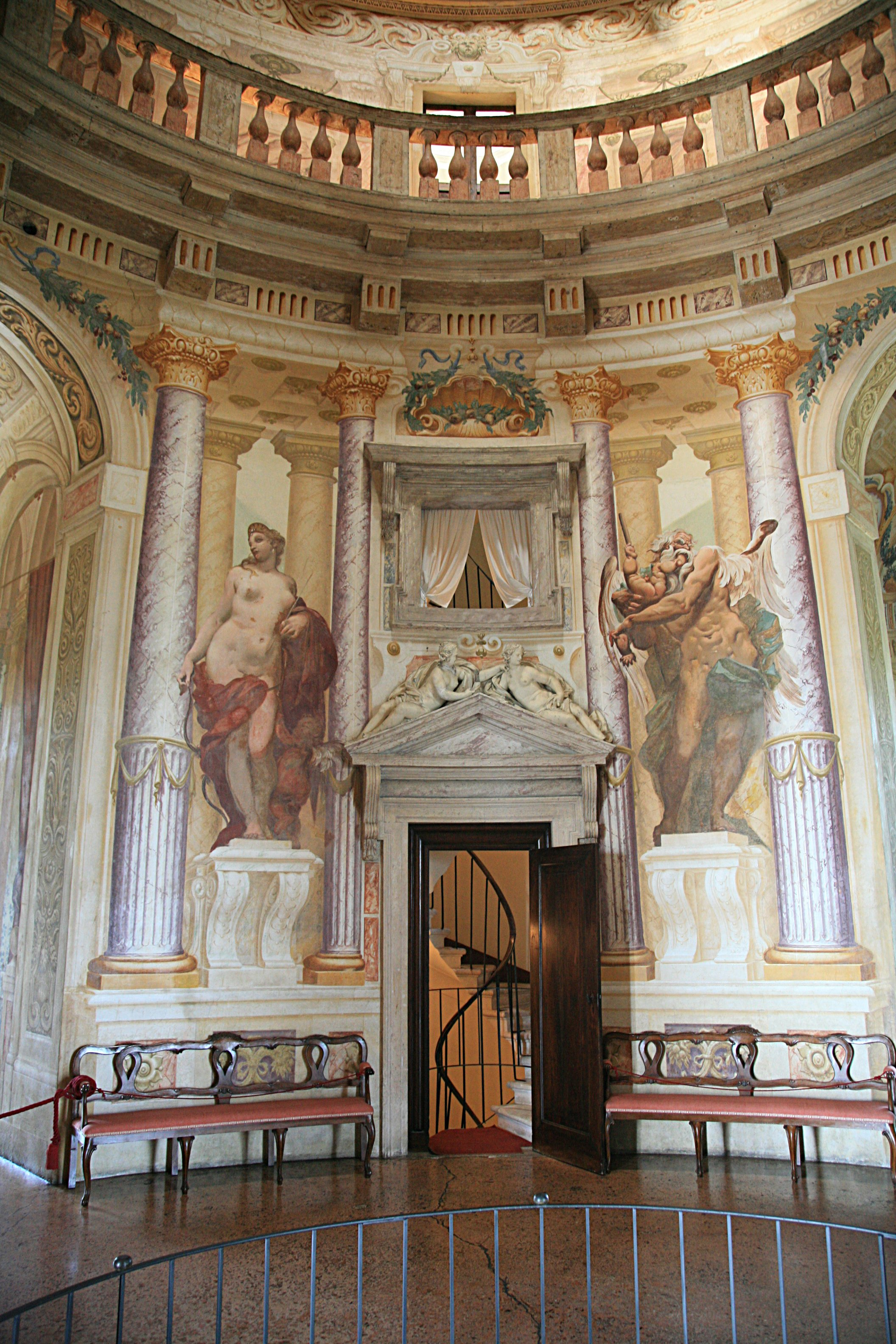 Villa Rotonda By Palladio Near Vicenza My Corner Of Italy