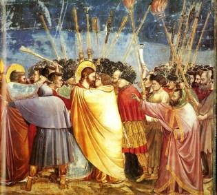 Giotto, Kiss of Judas, Scrovegni Chapel ©en.wikipedia.org