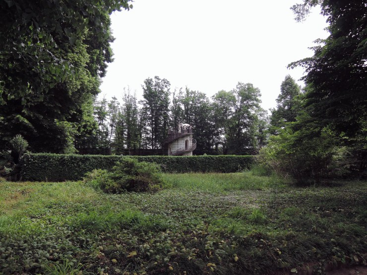 Villa Pisani Maze from the outside