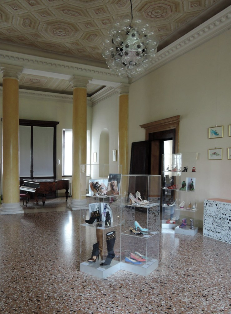 Main Room, Villa Foscarini Rossi Shoes Museum
