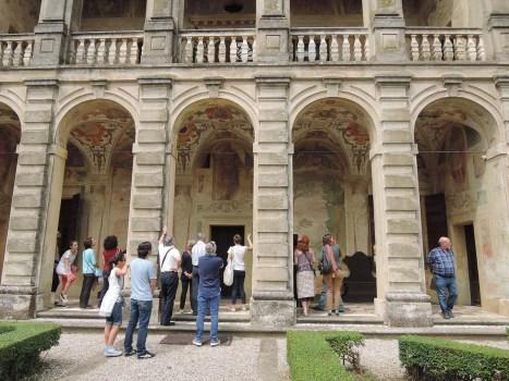 Admiring Villa Emo Capodilista