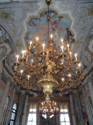 Chandelier in Ca' Rezzonico