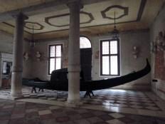 Gondola in Ca' Rezzonico
