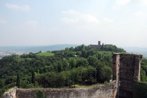Castles of Romeo and Juliet at Montecchio Maggiore