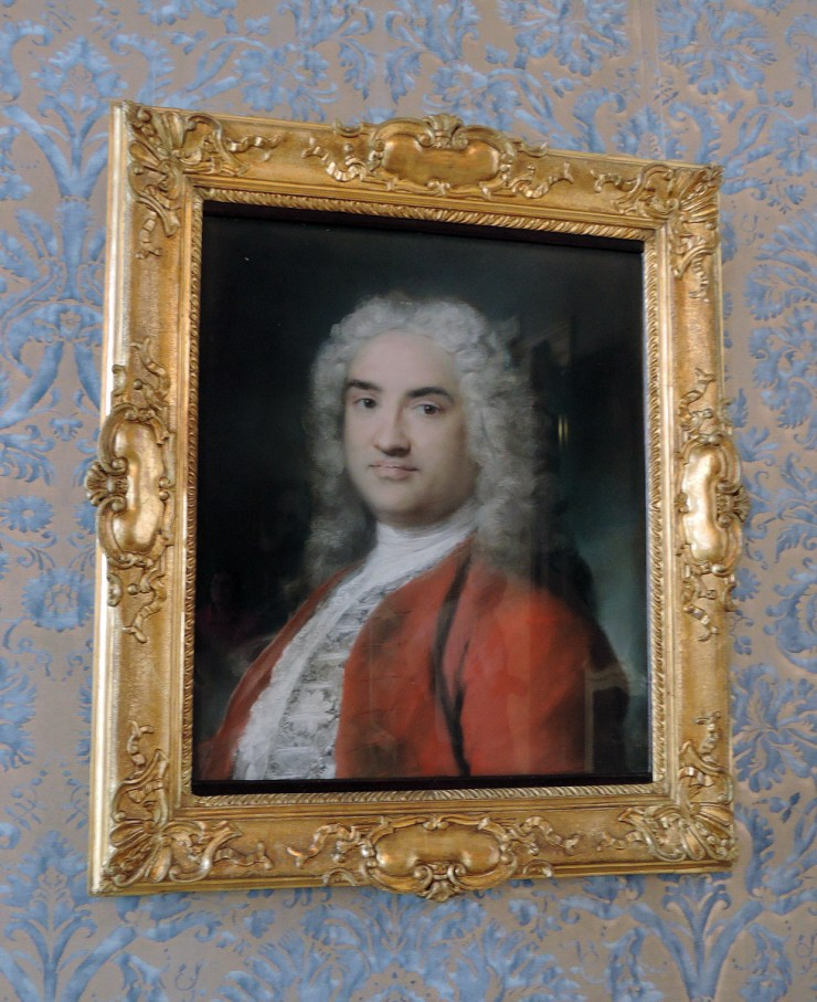Gentleman in red by Rosalba Carriera