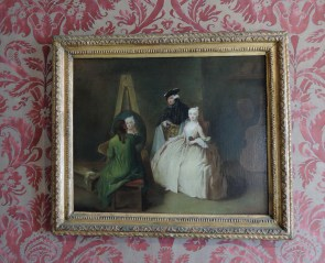 In the atelier of the painter