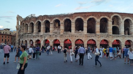 The Arena in the evening