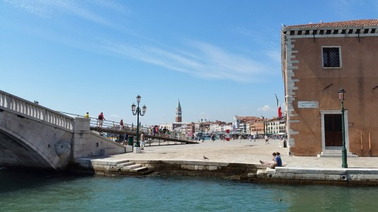 Walking from the Vaporetto to the Arsenale