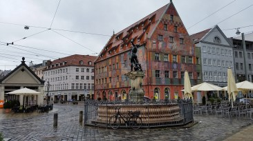 Augsburg, Romantic Road Itinerary
