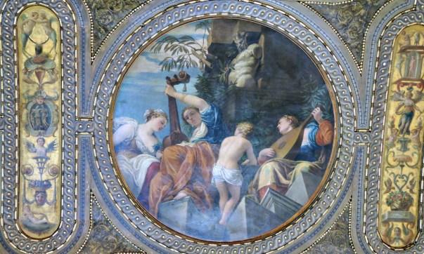 Music, Monumental Rooms of the Biblioteca Marciana
